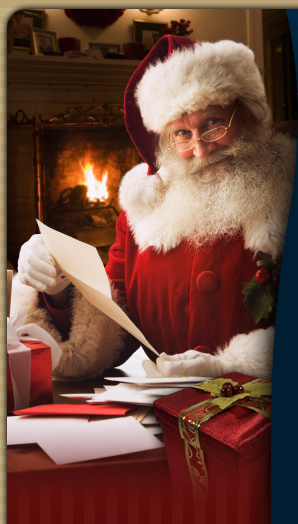 Personalised santa letters letter from claus